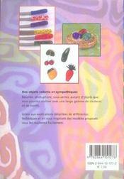 Pate Polymere Objets Deco Pour La Maison - 4ème de couverture - Format classique