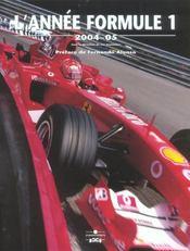 Annee formule 1 2004-2005 (édition 2004/2005) - Intérieur - Format classique
