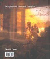 La Birmanie du Bouddha - 4ème de couverture - Format classique