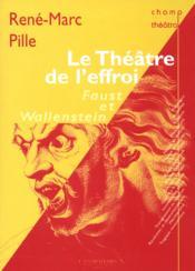 Le theatre de l'effroi - Couverture - Format classique