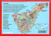 Ténérife ; les plus belles randonnées entre mer et montagne (édition 2007) - 4ème de couverture - Format classique