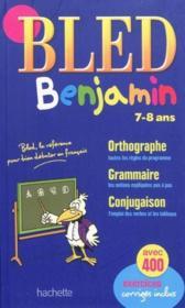 Bled ; Benjamin ; 7/8 Ans - Couverture - Format classique