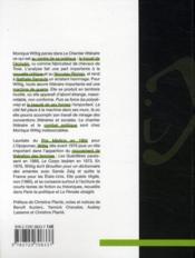 Le chantier littéraire - 4ème de couverture - Format classique