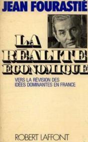 La réalité économique vers la révision des idées dominantes en France - Couverture - Format classique
