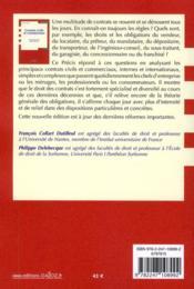 Contrats civils et commerciaux (9e édition) - 4ème de couverture - Format classique