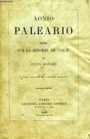 Aonio Paleario, Etude Sur La Reforme En Italie - Couverture - Format classique