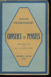 Conseils Et Pensees Receuillis Par E. Larcher - Couverture - Format classique