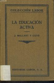 La Education Activa - Couverture - Format classique