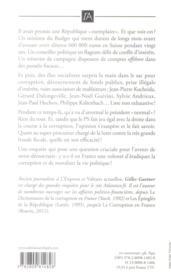 La République des imposteurs - 4ème de couverture - Format classique