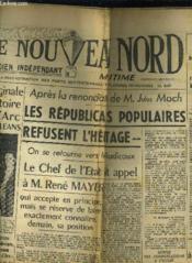Le Nouveau Nord Maritime N°916 - 5eme Annee - Mercredi 19 Ocotbre 1949. - Couverture - Format classique
