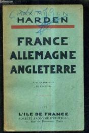 France Allemagne Angletterre /3e Edition. - Couverture - Format classique