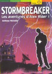 Alex Rider T.1 ; stormbreaker - Couverture - Format classique
