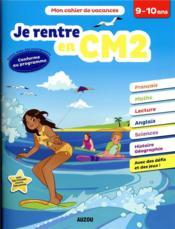 Cahier de vacances ; je rentre en CM2 - Couverture - Format classique