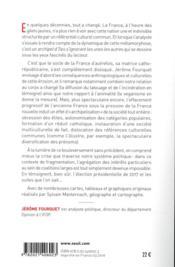 L'archipel français ; naissance d'une nation multiple et divisée - 4ème de couverture - Format classique