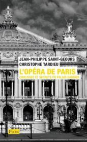 L'opéra de Paris : coulisses et secrets du palais Garnier - Couverture - Format classique