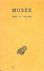 Héro et Léandre - Couverture - Format classique