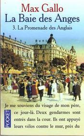 Baie Des Anges T.3 Promenades Des Anglais - Intérieur - Format classique