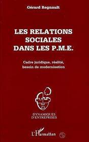 Les Relations Sociales Dans Les Pme - Intérieur - Format classique