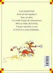 Zunik ; le wawazonzon - 4ème de couverture - Format classique