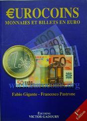 Urocoins ; monnaies et billets en euro - Couverture - Format classique
