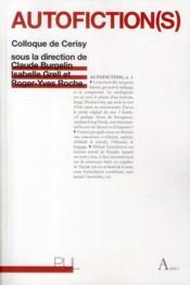 Autofiction S - Couverture - Format classique