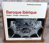 Baroque ibérique. Espagne, Portugal, Amérique latine. - Couverture - Format classique