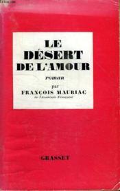 Le Desert De L Amour. - Couverture - Format classique