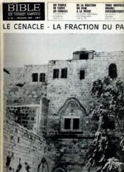 Bible Et Terre Sainte N°98 : Le Cenecle - La Fraction Du Pain - Couverture - Format classique