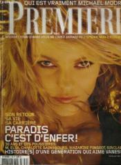 Premiere N° 329 - Son Retour, Sa Vie, Sa Carriere, Paradis C'Est D'Enfer ! - Couverture - Format classique