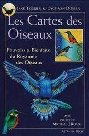 Les cartes des oiseaux ; pouvoirs et bienfaits du royaume des oiseaux - Intérieur - Format classique
