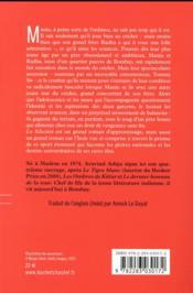 La sélection - 4ème de couverture - Format classique