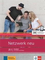 Netzwerk neu ; allemand ; A1 ; kursbuch - Couverture - Format classique