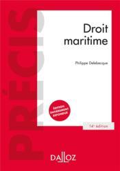 Droit maritime (14e édition) - Couverture - Format classique