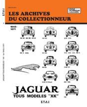 Jaguar xk-mk tous modeles et type e (48/71) n 3 - Couverture - Format classique