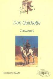 Cervantes Don Quichotte - Intérieur - Format classique