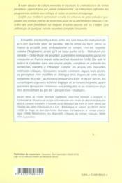Cervantes Don Quichotte - 4ème de couverture - Format classique