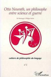 Otto Neurath, Un Philisophe Entre Science Et Guerre - Intérieur - Format classique