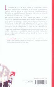 Sociologie des services entre marche et solidarite - 4ème de couverture - Format classique