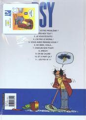 Les psy t.11 - 4ème de couverture - Format classique