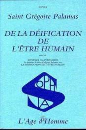 Deification Etre Humain - Couverture - Format classique