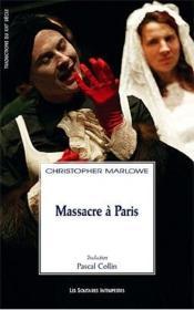 Massacre à Paris - Couverture - Format classique