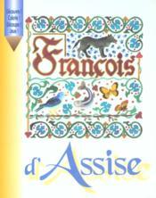 Francois d'assise-livre a colorier - Couverture - Format classique
