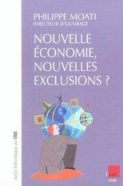 Nouvelle Economie, Nouvelles Exclusions ? - Intérieur - Format classique