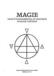 Magie - traite fondamental magie-theurgie - Couverture - Format classique