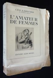 L'Amateur de femmes - Couverture - Format classique