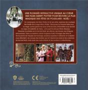 Noël à Poudlard - 4ème de couverture - Format classique