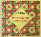 Patchwork campagnard - Couverture - Format classique