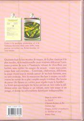 Ma boîte de recettes - A la soupe - 4ème de couverture - Format classique