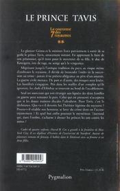 La cour. 7 roy. t2-le prince tavis - 4ème de couverture - Format classique