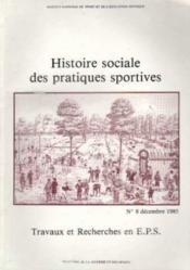 Historique soc.prat sportspecial sport - Couverture - Format classique